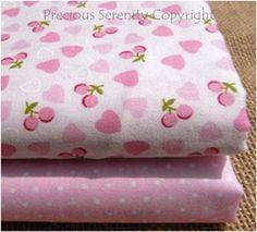 pink strawberry and polka dots