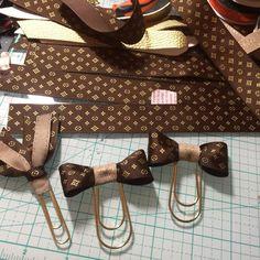 Planner paper clips Louis Vuitton ribbon going fast! Planner Tassel Tassels purse charm dangle LV logo Agenda A5 MM GM PM planner band ECLP Filo Kikki K Plum paper passion