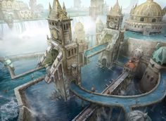Island - Return to Ravnica by fooyee.deviantart.com on @deviantART