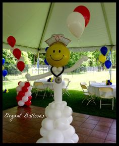 practical nursing program near me Ballon iDeen 🎈 Nurse Grad Parties, Nurse Party, Balloon Arrangements, Balloon Decorations, Balloon Ideas, Doctor Party, Nurse Decor, Nursing Graduation, Nursing Jobs