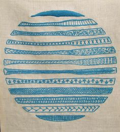 vandana jain. linen, wool, embroidery.