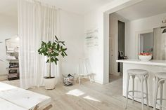 Virlova Interiorismo: [Deco] Blanco, abierto y lleno de luz