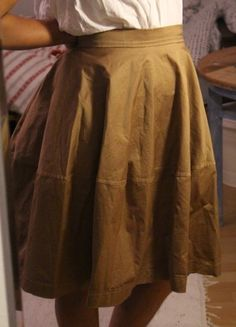 L Beige, Camel, Italy Beige, Camel, Italy, Boutique, Rock, Skirts, Fashion, Spinning Top, Tulips