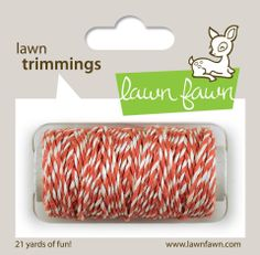 coral single cord #DIY #crafts // Lawn Fawn