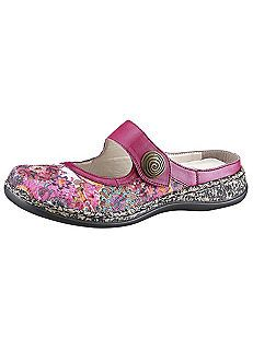 Rieker Floral Print Shoes