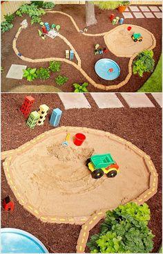 5 Spring DIY Sandbox Ideas - Cupcakepedia