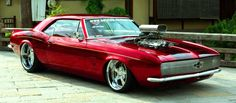 Tricked Out Showkase - A Custom Car | Sport Truck | SUV | Exotic | Tuner | Blog: Low & Fast Kandy Red 1967 Camaro