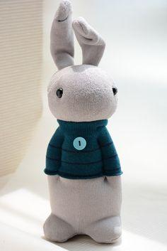 Grace--Sock Domy Rabbit