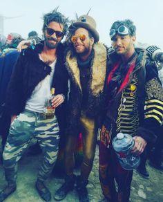 Post sobre os melhores looks do Burning man 2016. Confira no http://www.matchstyle.com.br/os-melhores-looks-do-burning-man-2016/