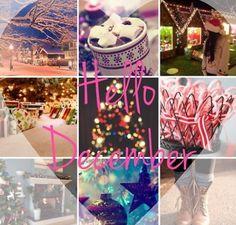Goodbye November and hello December