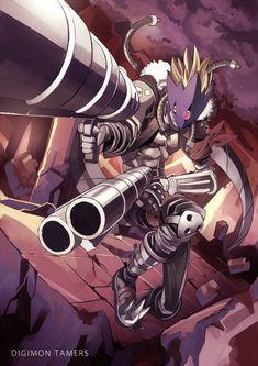 Beelzemon from the Digimon Anime