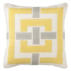 "Threshold™ Mini Applique Toss Pillow (12x12"")"