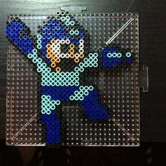 MegaMan perler beads by dannyreckless