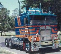 Kenworth Trucks, Mack Trucks, Big Rig Trucks, Semi Trucks, Cool Trucks, Pickup Trucks, Custom Big Rigs, Custom Trucks, Hugo Gonzalez