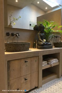 Marcels Louws badkamers Kies uw stijl – My Pins Rustic Bathroom Designs, Bathroom Interior Design, Bad Inspiration, Bathroom Inspiration, Bathroom Toilets, Small Bathroom, Master Bathroom, Metal Barn Homes, Bad Styling