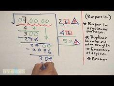 P1. Resolver una raíz cuadrada. Solving square root