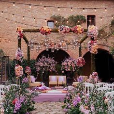 Weddings are a celebratory occasion which brings together two families. Confused whether to decorate your wedding mandap using florals or lights? We have curated a list with some awe-inspiring Wedding Mandap decor inspirations we know you'll love. Wedding Ceremony Ideas, Desi Wedding Decor, Wedding Stage Decorations, Wedding Mandap, Wedding Venues, Wedding Shoot, Diy Wedding, Marriage Decoration, Haldi Ceremony