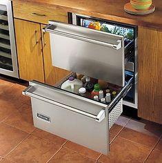 Réfrigérateur à tiroir / en inox / écolabel Energy Star VRDI : 24