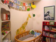 Small, colorful nursery