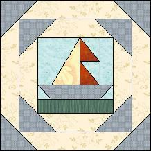 Block of Day for March 11, 2014 - Double Sail Boat