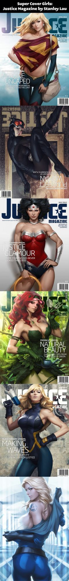 Super Cover Girls…