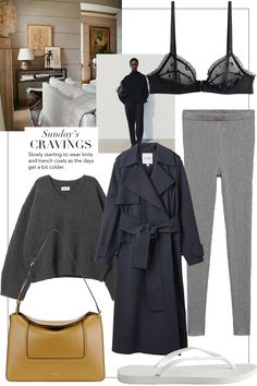 Fall Fashion Outfits, Winter Outfits, Autumn Fashion, Casual Outfits, Women's Fashion, Fall Travel Wardrobe, Fall Capsule Wardrobe, Cashmere Leggings, London Outfit
