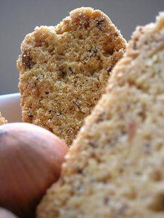 Cinnamon and Hazelnut Biscotti