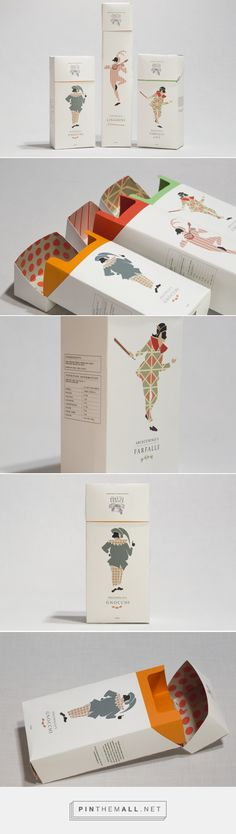 Duke of Venice Pasta packaging - Danielle Hair Portfolio - The Loop... - a grouped images picture - Pin Them All