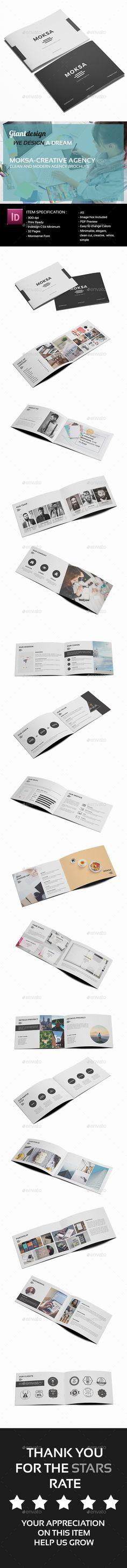 Moksa - Creative Agency Brochure