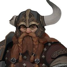 Bruenor from Dungeons & Dragons contracted by Wizards of the Coast. Almost a complete design overhaul for him. I had fun to exploring the design language for his dwarven culture on this one. Fantasy Character Design, Character Concept, Character Inspiration, Character Art, Concept Art, Fantasy Races, Fantasy Warrior, Dnd Characters, Fantasy Characters