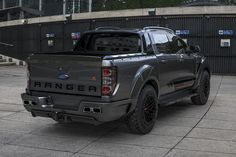 Ford Ranger Gets A Supercar Makeover   CarBuzz Ford Ranger Lifted, 2020 Ford Ranger, Front Pocket Wallet, Slim Wallet, Aluminum Wallet, Car Mods, Money Clip Wallet, Ford Transit, Business Gifts