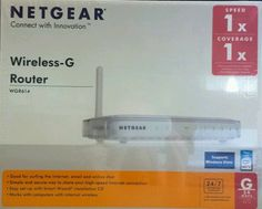 Netgear WGR614DLNA 4-Port Wireless-G Router 54MBPS for Cable DSL New Sealed Box in Computers/Tablets & Networking, Home Networking & Connectivity, Wireless Routers | eBay