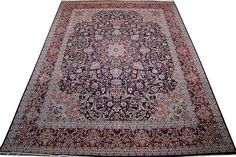 Pak Persian rug from Pakistan. The rug uses fine round wool and silk and has high knot count.  http://www.alrug.com/4274