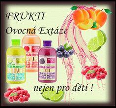 Přírodní kosmetika: Ovocné sprchové gely