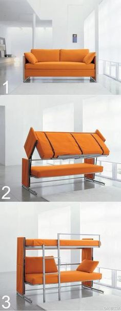 Sofa Transformer.  Saw it on a friend's FB. Innovative.