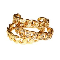 Ca and Lou http://www.vogue.fr/joaillerie/shopping/diaporama/maillons-xxl/10431/image/641417#ca-amp-lou-bracelet-charlotte-maillons-xxl-gourmette