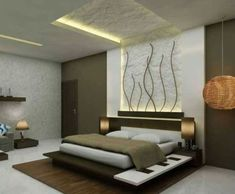 25 Comfortable Minimalist Bedroom Design Ideas For Married Couples is part of Ceiling design bedroom - Designing minimal bedrooms that do not have wide land is one thing that is easy to bother Designing a narrow Bedroom Lamps Design, Ceiling Design Living Room, Bedroom False Ceiling Design, Luxury Bedroom Design, Master Bedroom Design, Bedroom Decor, Fall Ceiling Designs Bedroom, False Ceiling Living Room, Bedroom Ceiling
