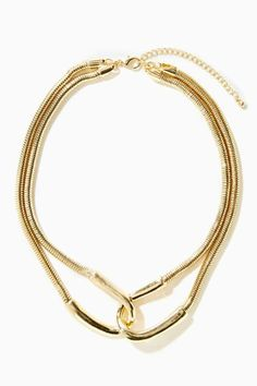 Double Over Collar Necklace