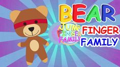 Teddy Bear Finger Family Nursery Rhyme for Children