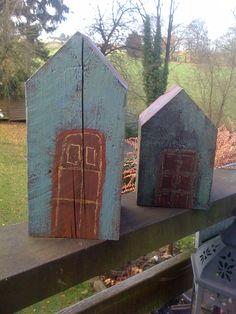 kleine Hingucker aus alten Holzbalken