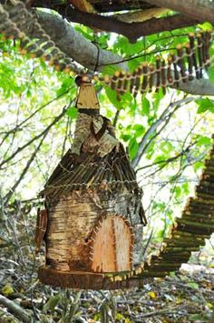 Building Fairy Houses is a fun way to connect kids with nature. Description from pinterest.com. I searched for this on bing.com/images