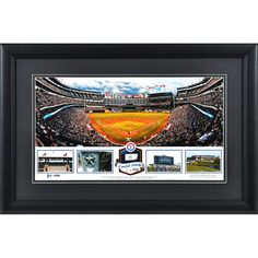 Texas Rangers Fanatics Authentic Framed Rangers Ballpark in Arlington Stadium Panoramic with Game-Used Ball-Limited Edition of 500 - $79.99
