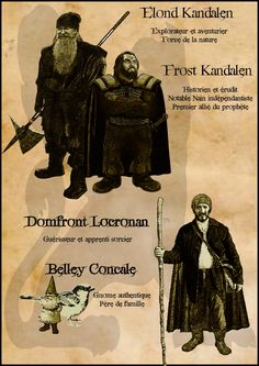 Frost, Elond, Belley, Domfront