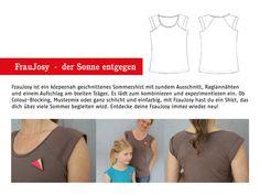 Nähanleitungen Mode - FrauJosy Trägershirt, ebook - ein Designerstück von schnittreif bei DaWanda