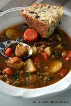 Irish Stew with Soda Bread