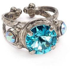 Sorrelli Swarovski Crystal Ring ($42) ❤ liked on Polyvore featuring jewelry, rings, sorrelli, swarovski crystal rings, sorrelli rings, swarovski crystal jewellery and swarovski crystals jewelry