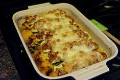 Chicken Parmesan Stuffed Zucchini Boats Recipe - The Kitchen Wife Chicken Zucchini Boats, Zucchini Boat Recipes, Stuffed Zucchini, Keto Chicken, Chicken Recipes, Mediterranean Diet Recipes, Healthy Recipes, Keto Recipes, Cooking Recipes