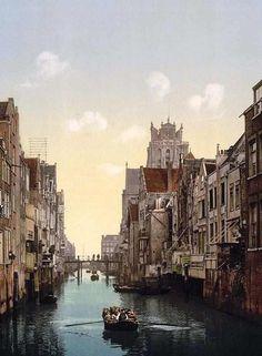 Dordrecht, oldest town in Holland