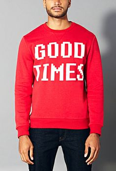 Good Times Sweatshirt | 21 MEN - 2000140209 #F21Crush