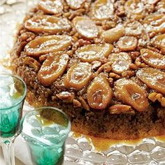 Bananas Foster Upside-Down Cake - Recipes, Dinner Ideas, Healthy Recipes & Food Guide
